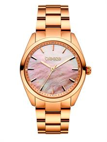 Pink Gold Tone Stainless Steel