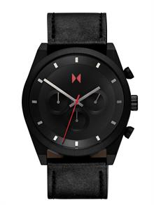 Ember Black Leather Strap