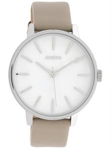 Beige Leather Strap
