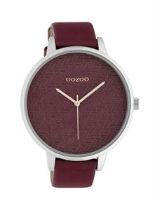 Burgundy Leather Strap