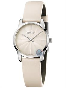 Sandy Cream Leather Strap