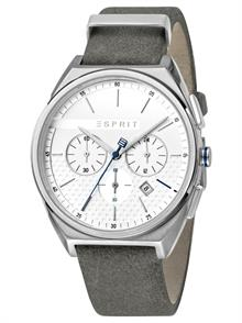 Grey Leather Strap