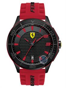 SF115 Red Silicon Strap