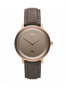 Ashen Taupe Leather Strap