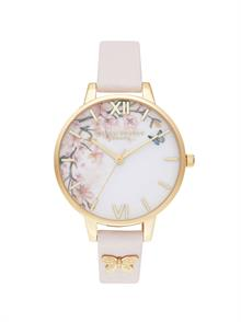 Demi Blossom Leather Strap