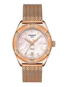 Pink Gold PVD Tone Milanese Br
