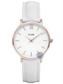 White Leather Strap