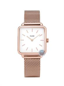 Rose Gold Tone Steel Mesh Band