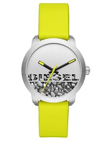 Yellow Shiny Leather Strap