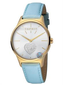 Light Blue Leather Strap