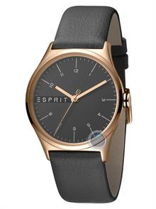 Small Dark Grey Leather Strap