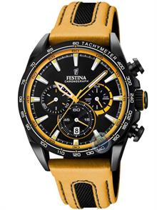 Mustard Yellow Leather Strap