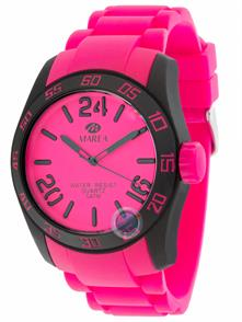 Saturate Pink Silicon Strap