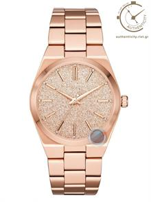 Rose Gold Tone Stainless Steel