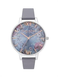 Deap Sea Blue Leather Strap