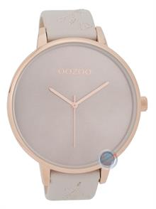 XL Beige Leather Strap